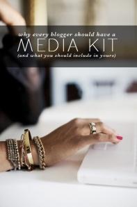 Blogers media kit