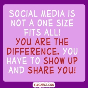 Social Media is NOT one size fits all
